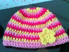 Mütze häkeln (Beanie) in 3 verschiedenen Farben - Anleitung für Anfänger - Mamahoch2