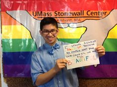 Because no matter what the color of your skin is we are all BEAUTIFUL.  -UMass Stonewall Center