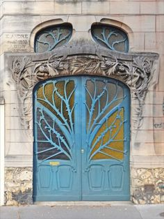 Art Nouveau at its finest: The city of Nancy was the center of an architectural movement