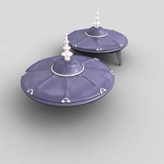 ufo spacecraft 3d 3ds
