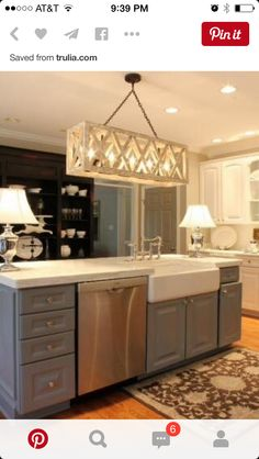 Kitchen Island With Farmhouse Sink I Want An Island So Ridiculously Massive That A Family Of Four