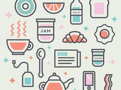 Breakfast Illustration http://ift.tt/1H8m025