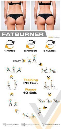 Klicke aufs Bild und mache jetzt sofort und kostenlos ein 500 Kalorien Workout i. - Body Workouts For Cutting Body Fat - The Best Exercises for a Full-Body Workout Fitness Workouts, Yoga Fitness, Gym Workout Tips, Fitness Workout For Women, Workout Schedule, Fitness Plan, Butt Workout, Workout Challenge, Fun Workouts