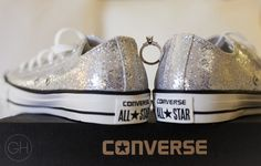 Converse Wedding Shoes  [copyright] Great Heights Photo
