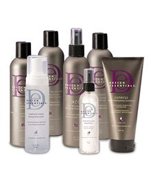 Design Essentials Damage Recovery Package:Organic Cleanse Deep Cleansing Shampoo, Moisture Retention Conditioning Shampoo, Express Instant Moisturizing Conditioner, HCO Leave In Conditioner, Hydrate Leave-In Conditioner, Reflections, Compositions Foaming Wrap Lotion with Coconut Oil and Wheat Protein.