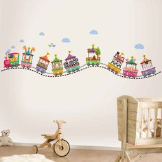 Transform your room with the stunning Walplus wall sticker collection. Walplus' high quality self-adhesive stickers are quick to apply, and can be easily removed and repositioned without damage. Simply peel and stick to any smooth, even surface.