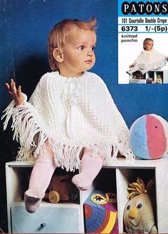 3314 Patons Baby Cardigans 4ply Knitting Pattern Age 6 mths to 6 yrs