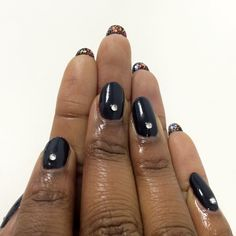 Manicures typically focus on the top part of your nails, but with lengthier tips gaining popularity (think Rihanna or Adele), adding polish to the underside of your talons is definitely in fashion.