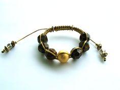 ♥ Pulseira Shambala [GoldBrown] R$25.00