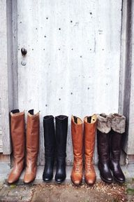 Fall Boot Selection.