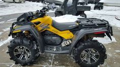 Used 2013 Can-Am Outlander X mr 800R ATVs For Sale in Minnesota. 2013 Can-Am Outlander X mr 800R, 2013 Can-AM® Outlander X® mr 800R The Outlander X® mr includes numerous mud-riding features that create a more effective mud machine, as proved by our success in many ATV championship mud races. We brought the air intake as high as possible on the ATV so the engine can breathe easily. It also has adjustable-on-the-fly front and rear Air Control Suspension (ACS). Our partnership with Gorilla…