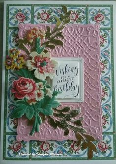 Scrapbook Page Layouts, Scrapbook Cards, Handmade Birthday Cards, Handmade Cards, Anna Griffin Cards, Birthday Box, Easel Cards, Die Cut Cards, Wedding Art