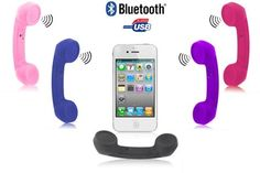 Cornetta retro bluetooth per iPhone #maidiredeal