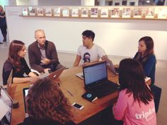 Trip4real and Airbnb working hard together at the Airbnb HQ #sf4real #dreambig #startup