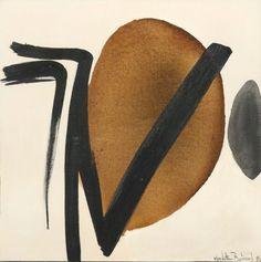 Huguette+ARTHUR+BERTRAND+(Ecouen+1922-+Paris+2005)+Abstraction+Huile+sur+toile,+1974+Signée+et+datée+60+x+60+cm+Collection+privée+CBLB,+Belgique+EH+-+Millon+Bruxelles+-+22/06/2015