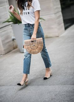 399cc767d5e Since last year Cult Gaia handbags – especially the Ark style – can be seen  everywhere. They have a summer vibe