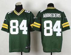 Green Bay Packers #84 Jared Abbrederis Elite Jersey