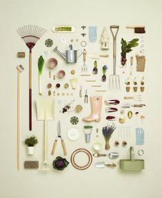 gardening - things organized neatly