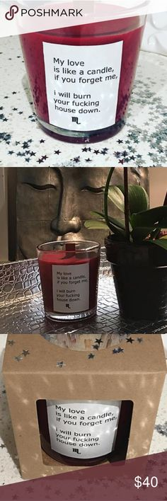 Scorpio Love Candle Soy wax infused with erotic and passionate notes of myrtle, seductive sandalwood, rock rose, patchouli and black truffle. 100% organic and eco-friendly soy wax, creating a smooth and creamy soy candle that burns slow and clean. Candles are made in small batches using quality essential and fragrance oils infused with herbs, flower essence & planetary charged crystals. Cosmic Candles Other