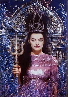 "is ""Amphytrite"" by Pierre et Gilles, 1989  Model - Nina Hagen  From ""Pierre et Gilles: Sailors & Sea"" book."