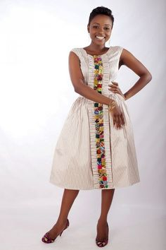 Creative Director, Aisha Obuobi in her own Christie Brown design