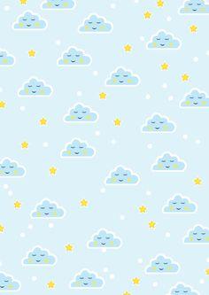 Cloud pattern art   #kid #nursery #patternart #trend #sweet #shutterstock #