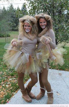 Lion costumes for Halloween