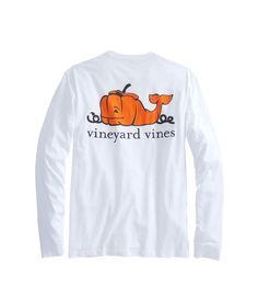 Vineyard Vines - Long-Sleeve Pumpkin Whale Pocket T-Shirt Preppy Outfits, Preppy Style, Winter Outfits, Cute Outfits, My Style, Preppy Clothes, Vineyard Vines Long Sleeve, Vogue, Fishing T Shirts