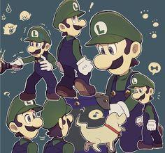 さびのせ太郎 (@snnatosuke) / Twitter Super Mario Bros, Super Mario World, Super Mario Brothers, Super Smash Bros, Mario Comics, Luigi And Daisy, Mario Fan Art, King Boo, Luigi's Mansion