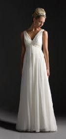 simple wedding dresses for older brides