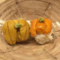 #uni from #hokkaido and #kyushu #sushi #seaurchin #omakase by omakase_nyc