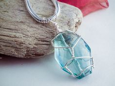 DIY Wire Wrapped Pendant Tutorial | Jewelry Pinn