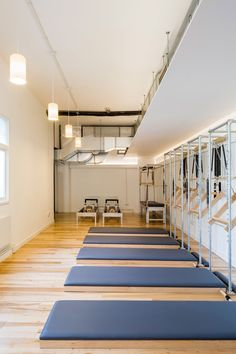 pilates studio interior design - Google Search