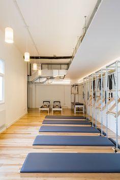 pilates studio interior design - Google Search