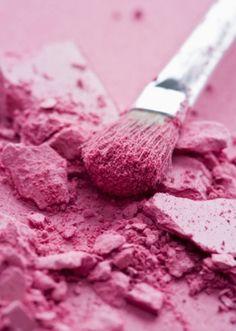 pink blush.
