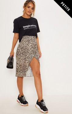 cd68bfef7b Free People Normani Leopard-Print Midi Skirt - ShopStyle Mid-length ...