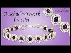 Tutorial DIY Wire Jewelry Image Description Beadalon flat Artistic Wire in silver ~ Wire Jewelry Tutorials