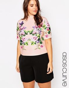 #sanscomplexe #flower #mode #fashion #Asos #Curve