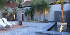 Let's just turn the you unused patio space into a beautiful space that can relax our soul and mind. Find the best DIY Patio Ideas here! Courtyard Gardens Design, Patio Layout Design, Small Garden Design, Garden Seating Area, Privacy Landscaping, Beautiful Backyards, Backyard Lighting, Backyard Water Feature Diy, Diy Patio