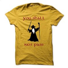 Gandalfs you shall not pass from LOTR - #gift bags #shirt dress