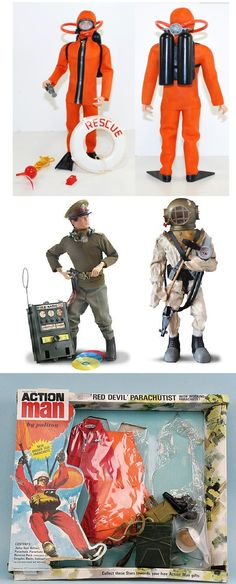 My Action Man's under water adventures were cut short due to his breathing equipment sinking down the bath plug hole. Vintage Toys 1970s, 1970s Toys, Childhood Toys, Childhood Memories, Old Toys, Gi Joe, Growing Up, Nostalgia, The Past