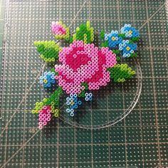 Perler Bead Templates, Diy Perler Beads, Pearler Bead Patterns, Perler Bead Art, Perler Patterns, Kandi Patterns, Quilt Patterns, Pixel Art, Hamma Beads Ideas