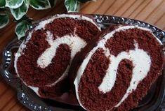 """Míša"" roláda Brownie Cupcakes, Croissants, Graham Crackers, Food Hacks, Tiramisu, Nutella, Deserts, Food And Drink, Cooking Recipes"