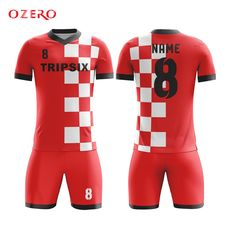 4ee06fed243 Find More Soccer Jerseys Information about custom mens mesh plain red white  color national team usa