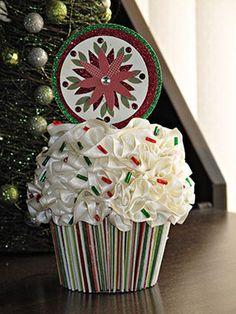 Ribbon Cupcake