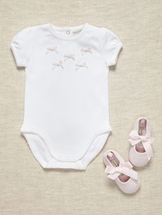 Girls Bodysuit & Shoe Set by Wendy Bellissimo