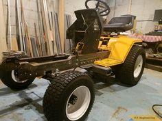 Motorized Wheelbarrow, Wheel Horse Tractor, John Deere 400, Garden Tractor Attachments, Homemade Tractor, Tractor Loader, Tractor Implements, Compact Tractors, Cub Cadet