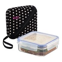 Bento Sandwich Box, $16.99 Bento Box Lunch, Lunch Bags, Box Lunches, Sandwich Box, Sandwiches, Kitchen Organization Pantry, Kitchen Storage, Adult Lunch Box, Container Store