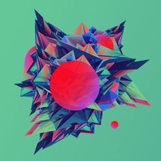 Paracosm by Justin M. Maller, 2014 - love the color scheme