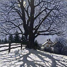 Clear Winter Night , Carol Collette